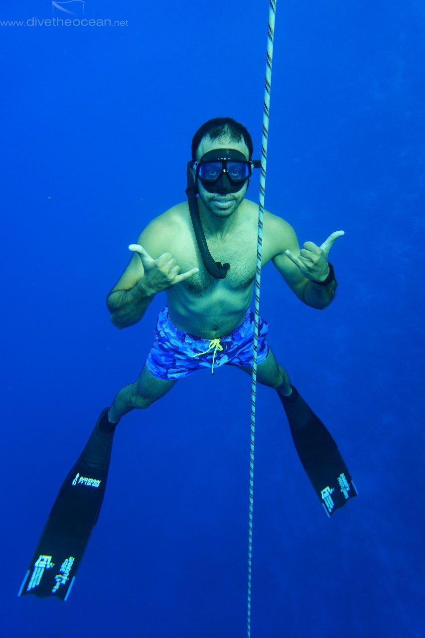 Freediver Abdullatif