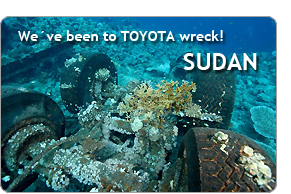 We've been to TOYOTA wreck! SUDAN